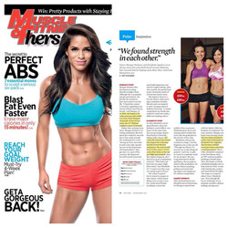 Muscle and Fitness Hers March 2014