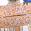 Thumbnail: Keep Going Motivational Postcard