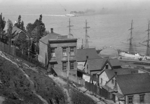 How decades of dynamite reshaped Telegraph Hill.