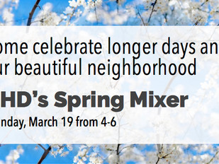 THD's Spring Mixer is this Sunday