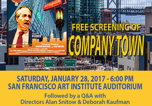 """District 3 Community Screening of """"COMPANY TOWN"""""""