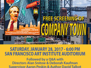 "District 3 Community Screening of ""COMPANY TOWN"""