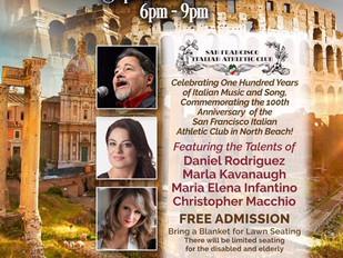 Italian Music in Washington Square Park Sept. 15