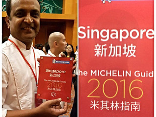 Thank you Michelin guide Singapore