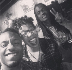 At a video shoot with AudioPush!