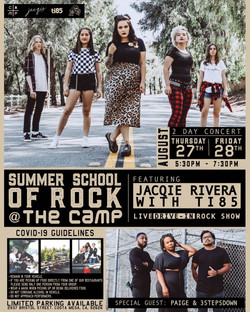 Summer School of Rock with Jacqie Rivera