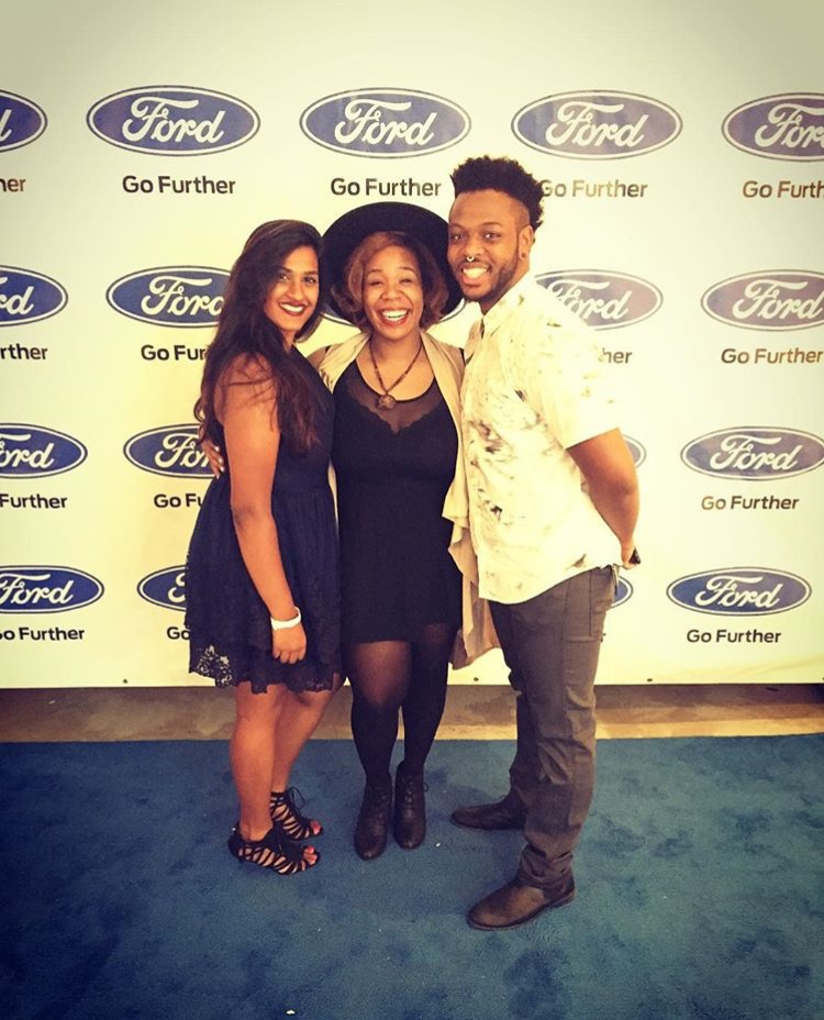 Fun at the Ford event in Atlanta!