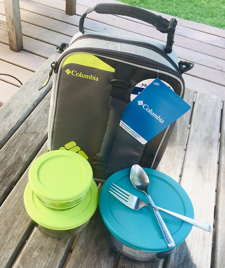 Simple Solutions: 3 Containers and Lunch Box Set