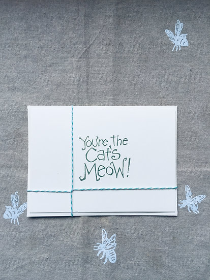 Meow! Notecard