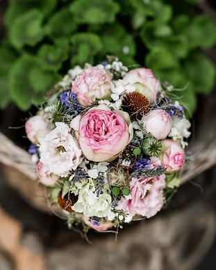 Fotos vom Brautstrauss der Braut, Hochzeitsfotograf in und um Zürich, Janine Benz Photography