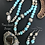 Thumbnail: Two Blue Eyed Fish Necklace & Earrings Set