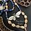 Thumbnail: Sodalite Luna Moth Necklace & Earrings Set