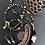 Thumbnail: Horn of the Golden Zebra Necklace & Earrings Set