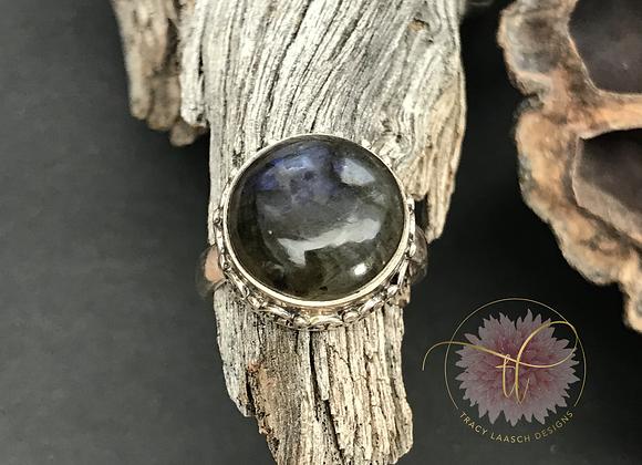 Crown of Labradorite Ring