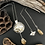 Thumbnail: Fine Silver Bee in the Hive Necklace & Earrings Set