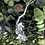 Thumbnail: 925 Sterling Silver Apple Flowers Necklace