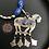 Thumbnail: Lapis Lazuli Horse Necklace/Earrings Set