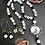 Thumbnail: Crystals & Kiwi Necklace & Earrings Set