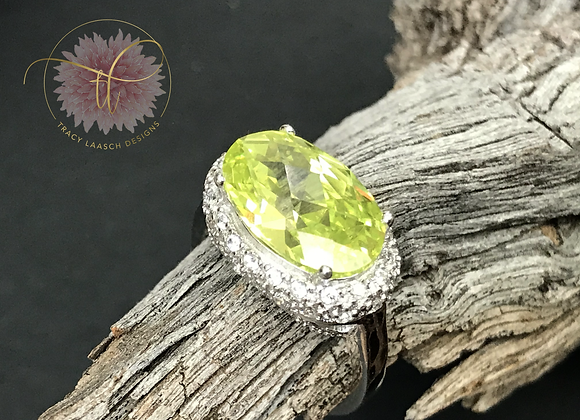 Crown of Peridot Ring