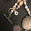 Thumbnail: Coral Faith Angel Necklace & Earrings Set