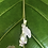 Thumbnail: 925 Sterling Silver Bamboo Baby Tree Frog Necklace