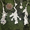 """Thumbnail: .999 Fine Silver """"Dinner in the Garden"""" Frog Necklace"""