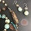 Thumbnail: African Turquoise Buddha Necklace & Earrings Set