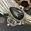 Thumbnail: Psilomelane, Herkimer & Onyx Ring