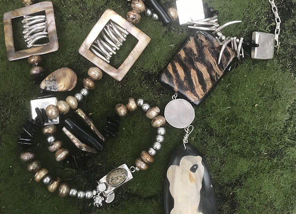 All About Africa Statement Necklace