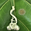 Thumbnail: Fine Silver Dragonfly & Acorns Necklace- Avail at Stevans