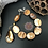 Thumbnail: Golden Abalone Bracelet with clasp