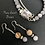 Thumbnail: Opposites Attract Kyanite Double Layer Necklace & Earrings Set