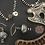 Thumbnail: Onyx Talisman Necklace & Earrings Set