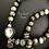 Thumbnail: Crystal Cats Eye Necklace & Earrings Set