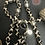 Thumbnail: Tibetan Rosary Bone Cross Necklace & Earrings Set