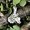 Thumbnail: 925 Sterling Silver Flower on the Vine Necklace