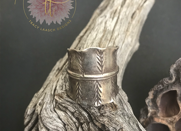 Quill Band Ring