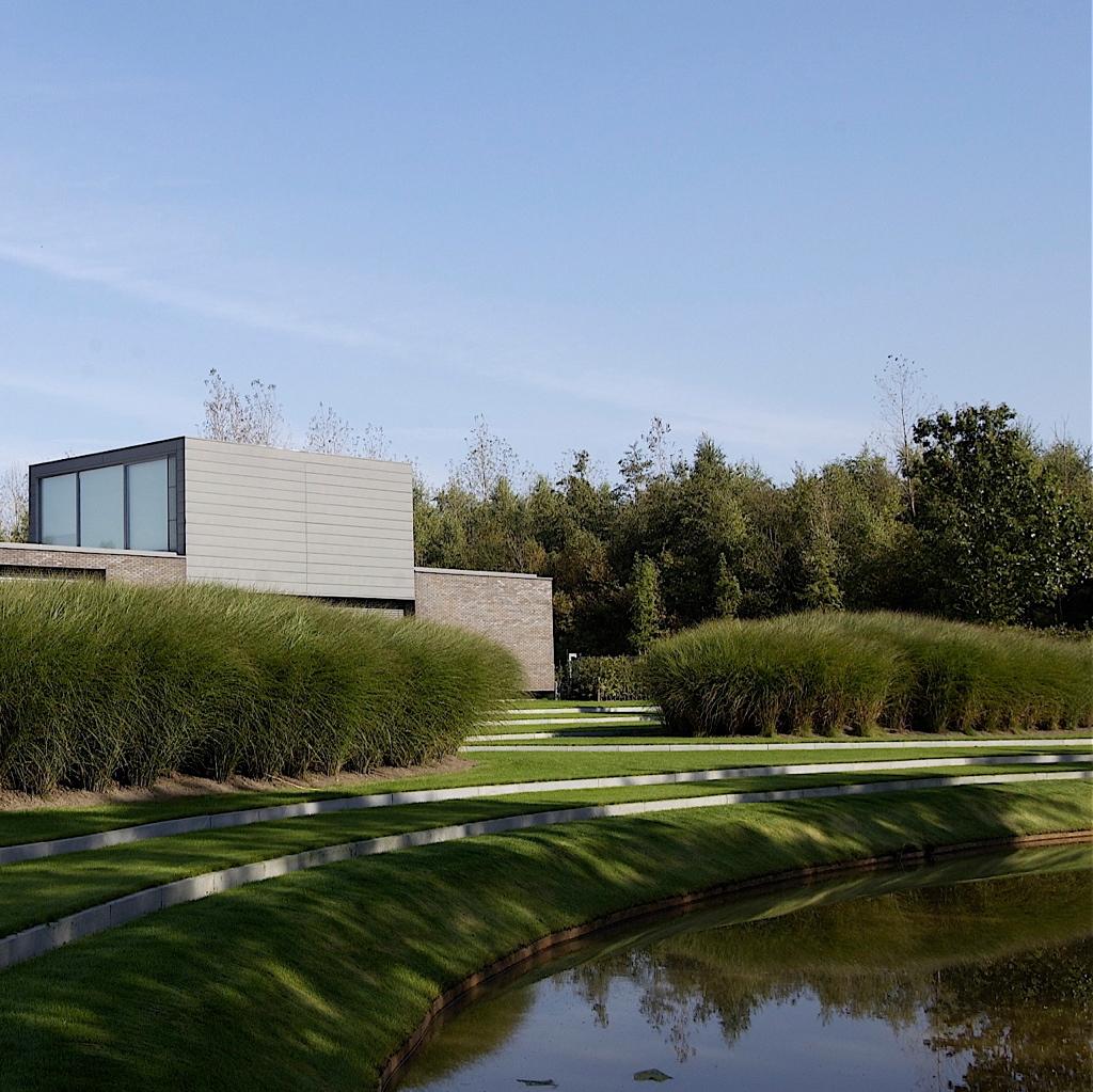 Moderne landschapstuin Retie