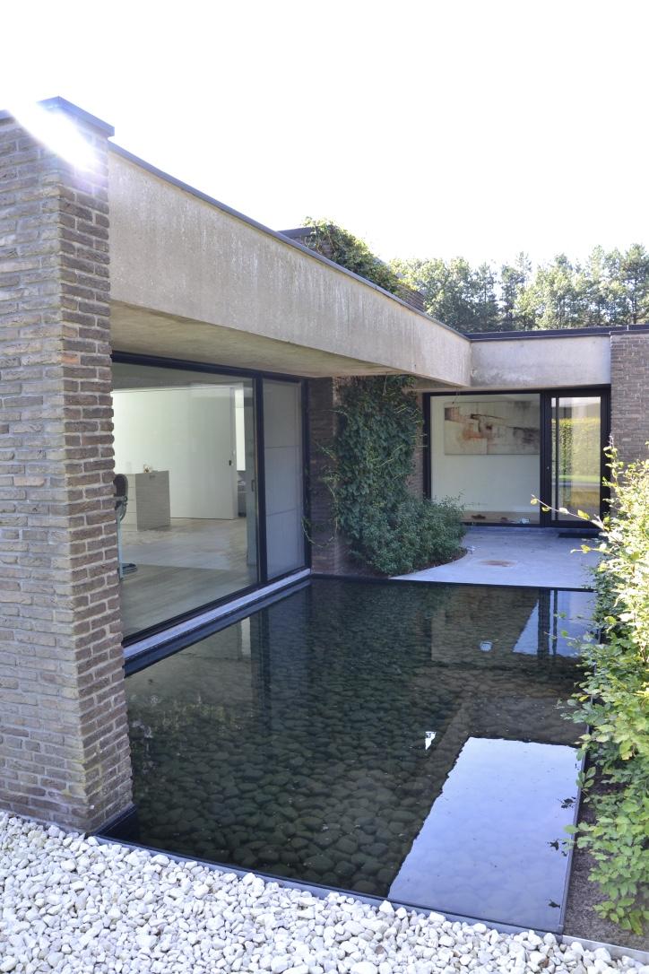 Minimalistische tuin Geel
