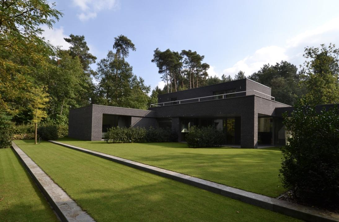Moderne tuin Retie