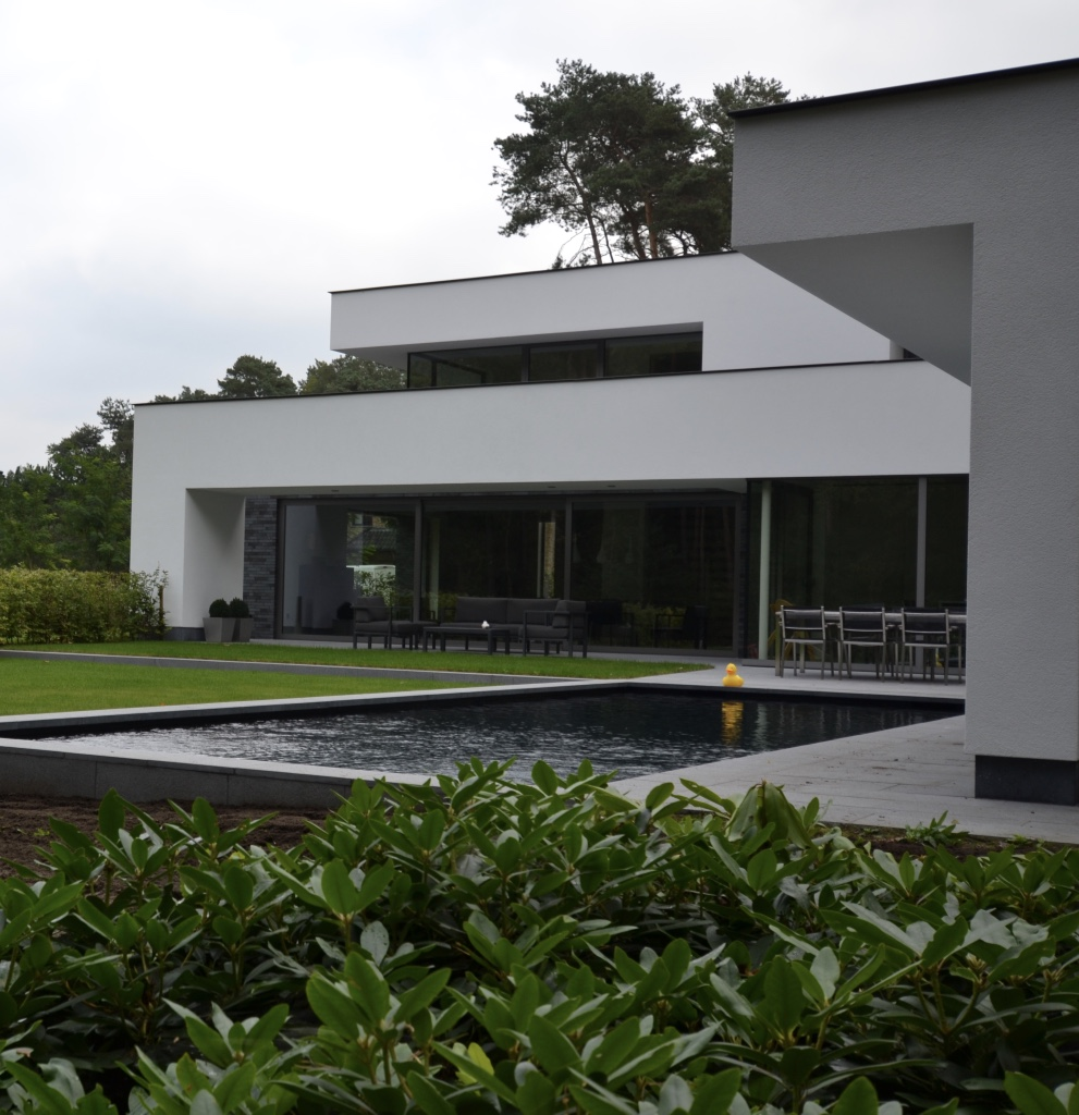 Moderne tuin Tremelo