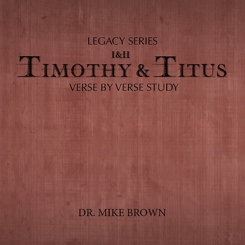 DVD - I & II Timothy & Titus