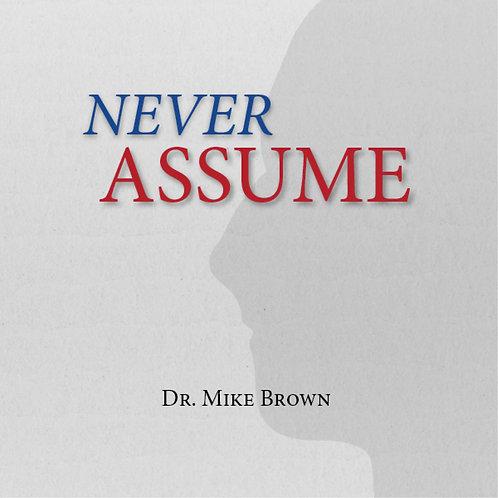 CD - Never Assume