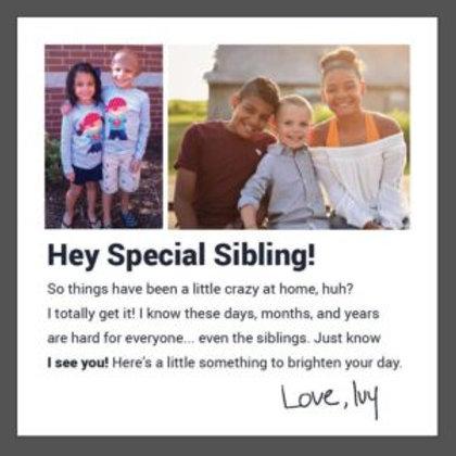 Gift Card for Siblings