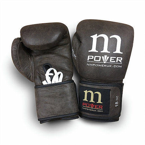 WHOLESALE Grey Leather Boxing Gloves