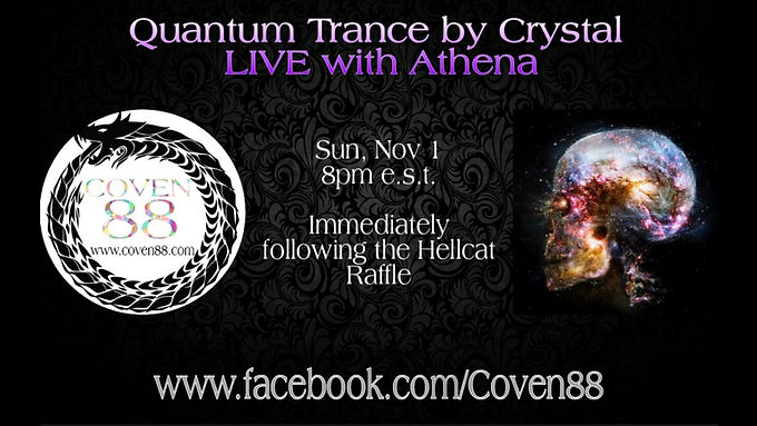 Quantum Trance by Crystal LIVE with Athena