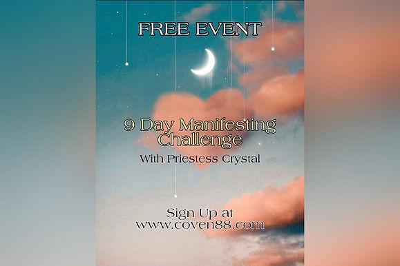 9 Day Manifesting Challenge