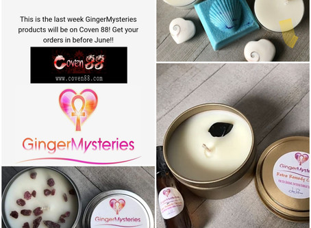 Saying Goodbye to GingerMysteries...