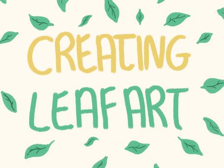 Leaf art 🖼