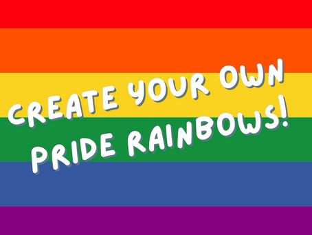 Activity: Pride Rainbows!